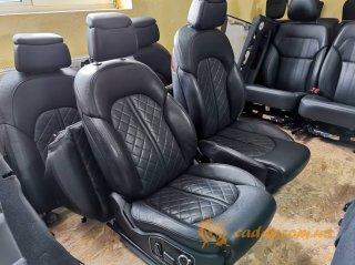Audi A8 D3 comfort - передние кожаные сиденья
