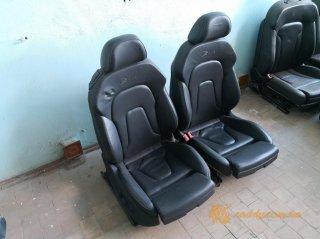 Audi A5 S-line - передние кожаные сиденья