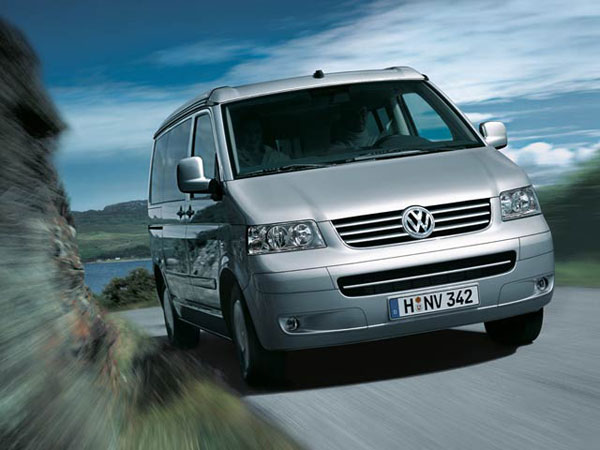 Обзор Volkswagen California. Иновации, салон и комплектация VW California 2008