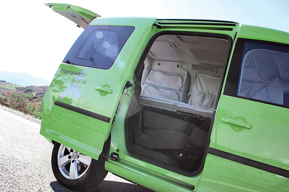 VW Caddy Tramper