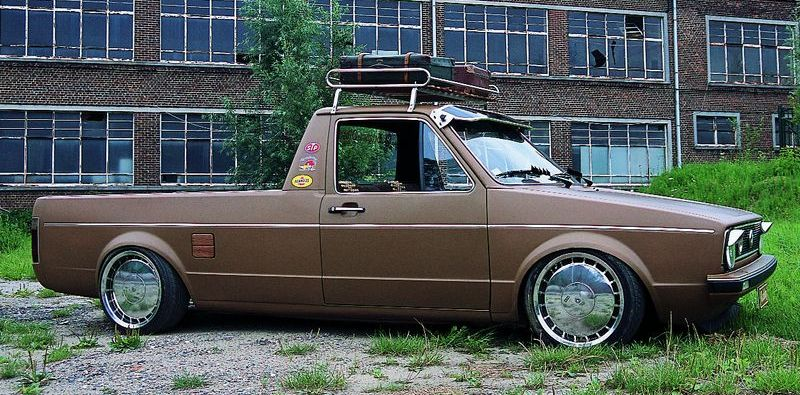 VW Caddy tuning