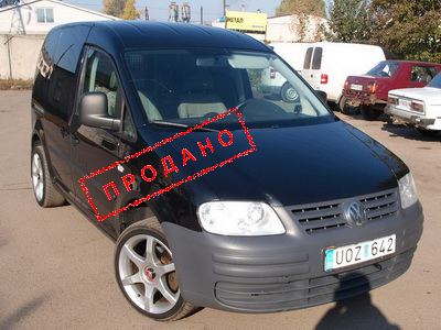 Фольцваген Кадди (Volkswagen Caddy) 2007 г.в. 1.9 TDI, DSG, Full, 121 000 км