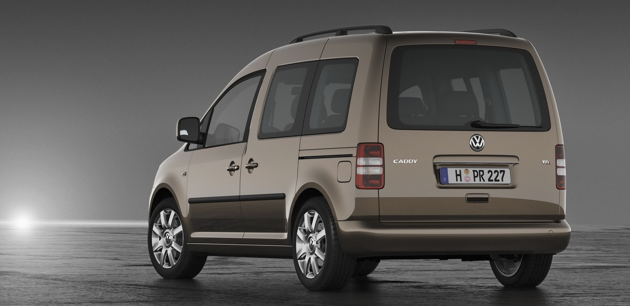 установка сидений на VW Caddy Maxi