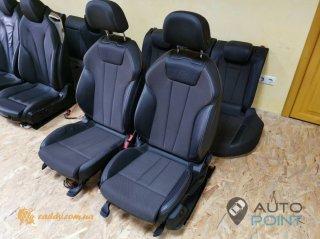Audi A4 B9 - передние сиденья