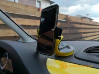 Floveme yellow - держатель смартфона