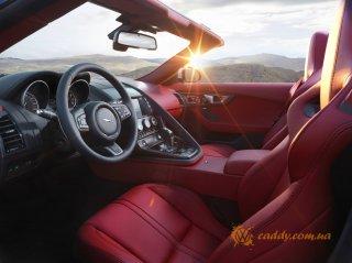 Jaguar F-Type - офисное автокресло