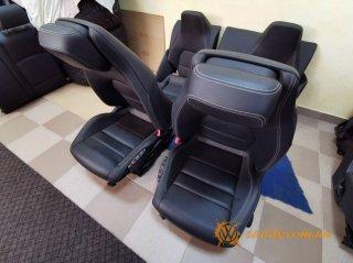 Mercedes CLK - кожаный салон