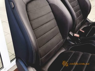 Mercedes W205 - откидные передние сиденья