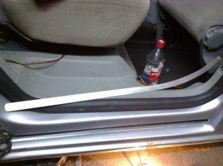 VW Transporter T4 - накладка под ролик