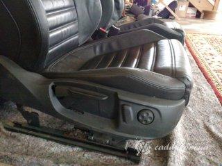 VW Passat CC - кожаный салон